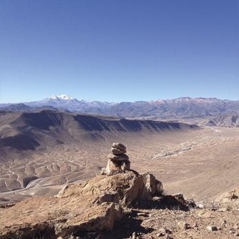 Interpretación de paisaje Monumento Natural Quebrada de Cardones